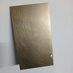 高比B1青古铜手工乱纹哑光不锈钢板