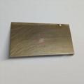 高比304青古铜手工乱纹哑光不锈钢板