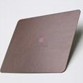 高比亂紋不鏽鋼水鍍紫銅色  會