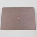 高比亂紋不鏽鋼水鍍紫銅色  會所不鏽鋼門板材料