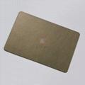 高比乱纹不锈钢镀古铜  304不锈钢镀铜板生产厂家 3