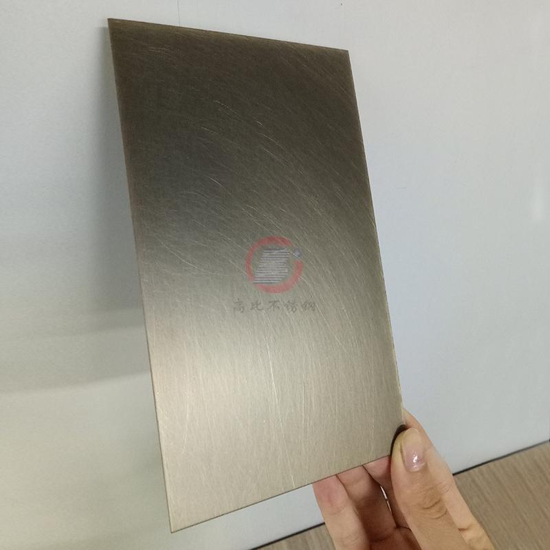 高比亂紋青古銅不鏽鋼圖片  家居不鏽鋼鍍銅門板 2
