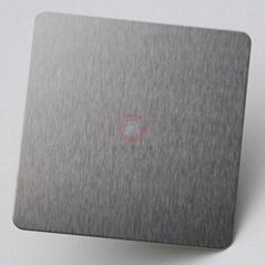 高比304不锈钢雪花砂本色板 家具装饰材料