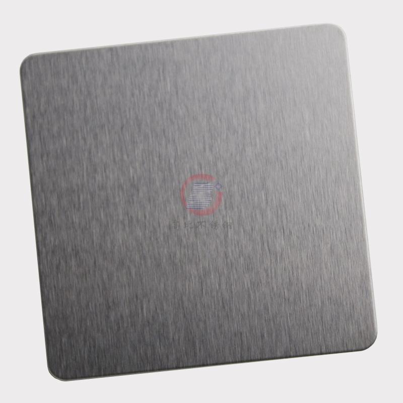 高比304不锈钢雪花砂本色板 家具装饰材料 2