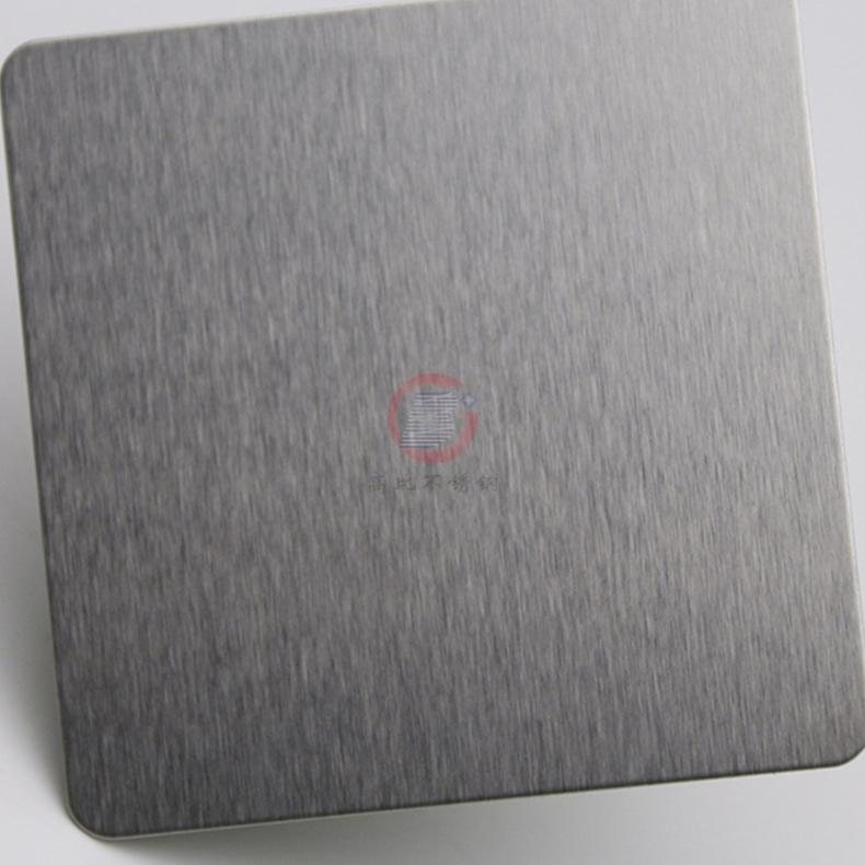 高比304不锈钢雪花砂本色板 家具装饰材料 3