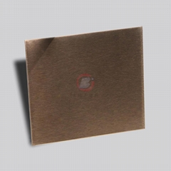 高比不锈钢雪花砂古铜  环保不锈钢离子真空镀