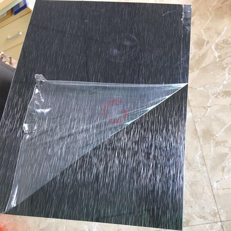 高比304黑色不锈钢雪花砂板  2