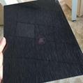 高比304黑色不锈钢雪花砂板  5