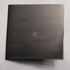 高比雪花砂不锈钢电镀黑钛 优质304彩色不锈钢