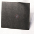 高比304雪花砂不鏽鋼電鍍黑鈦
