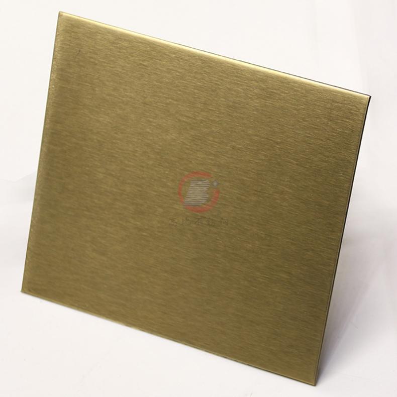 高比不鏽鋼雪花砂黃鈦金  電梯裝璜金屬制品材料 1