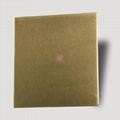 高比不鏽鋼雪花砂黃鈦金  電梯裝璜金屬制品材料 2