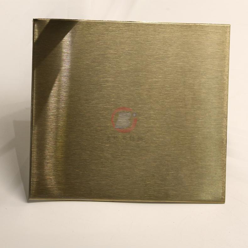 高比316不锈网雪花砂香槟金 家居装璜金属制品 1