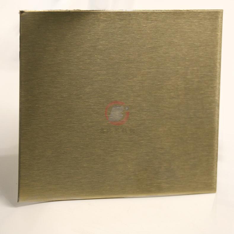 高比316不锈网雪花砂香槟金 家居装璜金属制品 2