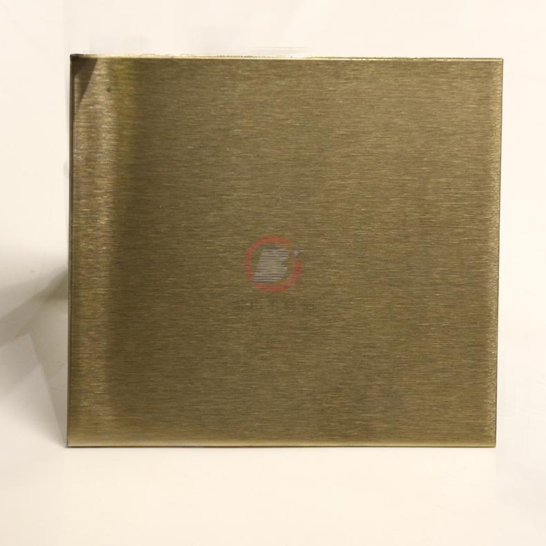 高比316不锈网雪花砂香槟金 家居装璜金属制品 3