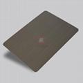 高比1801手工拉絲青古銅(鍍黑)304不鏽鋼板 3