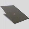 高比1802 砂帶拉絲發黑青古銅不鏽鋼板  3