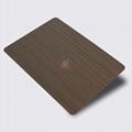 高比1803 手工拉丝纯色青古铜发黑不锈钢 2