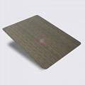 高比1804 機械304拉絲鍍黑青古銅不鏽鋼板 2