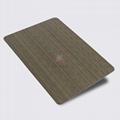 高比1804 機械304拉絲鍍黑青古銅不鏽鋼板 3