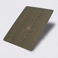高比1804 機械304拉絲鍍黑青古銅不鏽鋼板 4