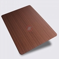 高比1808 手工拉絲不鏽鋼紅古銅發黑 2