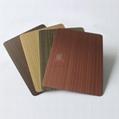 高比1808 手工拉丝不锈钢红古铜发黑