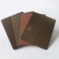 高比1810砂带拉丝镀黑不锈钢红古铜