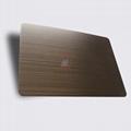 高比1810砂帶拉絲鍍黑不鏽鋼紅古銅 5