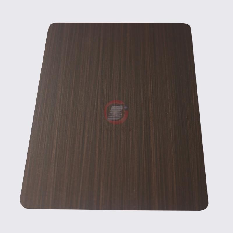 高比1811手工拉絲發黑紅古銅不鏽鋼 2