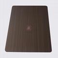 高比1811手工拉丝发黑红古铜不锈钢 2