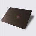 高比1811手工拉丝发黑红古铜不锈钢 3