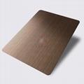 高比1812鍍黑機器拉絲紅古銅不鏽鋼板 3