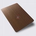 高比1812鍍黑機器拉絲紅古銅不鏽鋼板 4