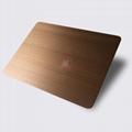 高比1813手工拉絲偏黃紅古銅發黑不鏽鋼 4