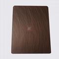 高比1814 手工乱纹红古铜发黑不锈钢 3