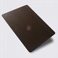 高比1815 手工拉丝深黑红古铜不锈钢 5