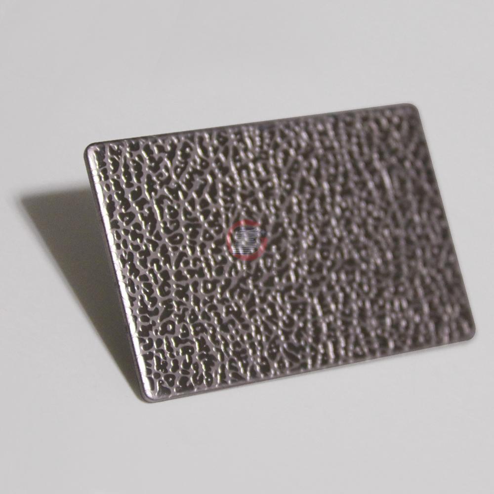 高比不锈钢蝅甬压花板  2