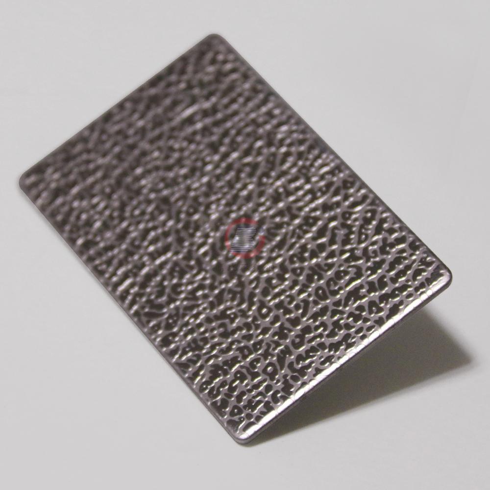 高比不锈钢蝅甬压花板  4