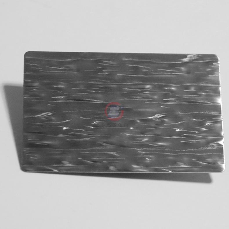 高比粗樹皮壓花不鏽鋼板 機器設備裝置材料 1