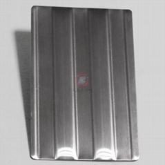高比进口不锈钢压花粗条纹 打印设备装置材料