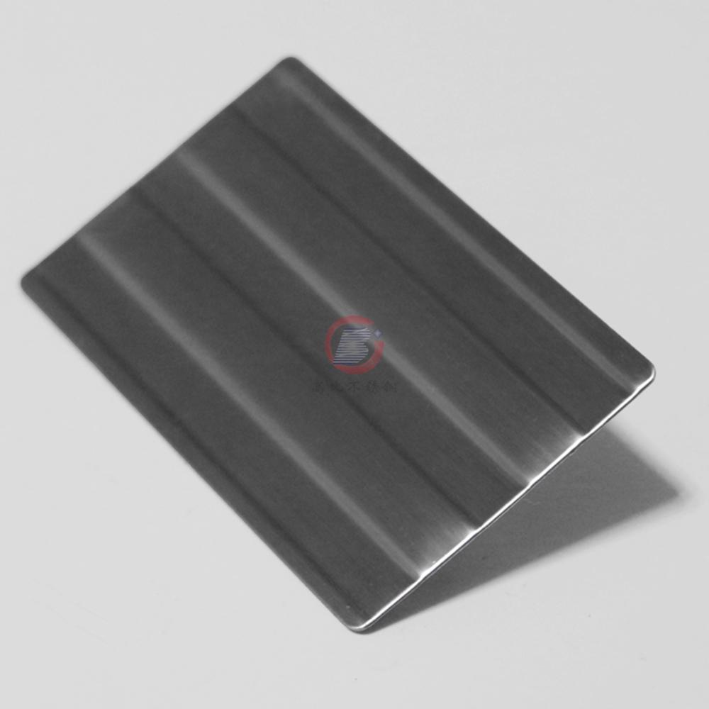 高比进口不锈钢压花粗条纹 打印设备装置材料 3