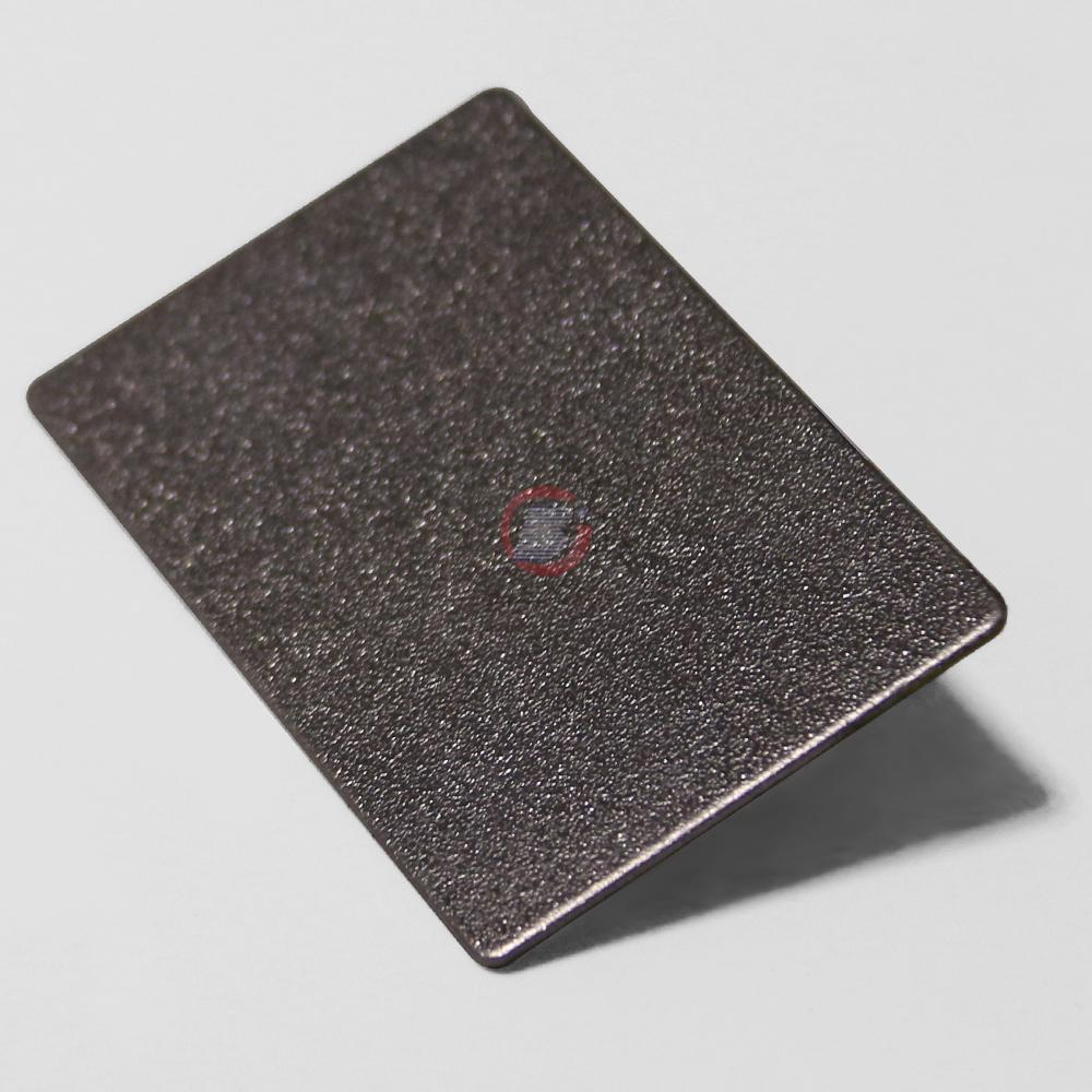 高比304不锈钢板大粗砂压花 3