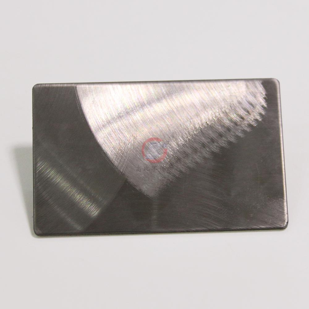 High Ratio, imports 304 stainless steel embossing plate typhoon hairline 1