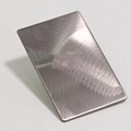 High Ratio, imports 304 stainless steel embossing plate typhoon hairline 2