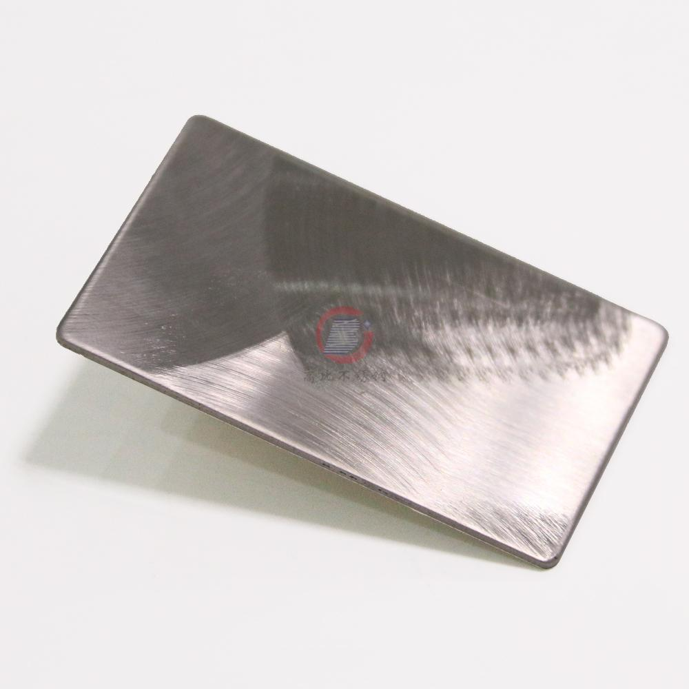 High Ratio, imports 304 stainless steel embossing plate typhoon hairline 4