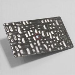 高比不鏽鋼鱷魚紋壓花板 優質進口不鏽鋼板
