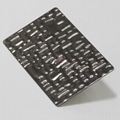 High Ratio Imported 304 stainless steel crocodile pattern embossing board 3