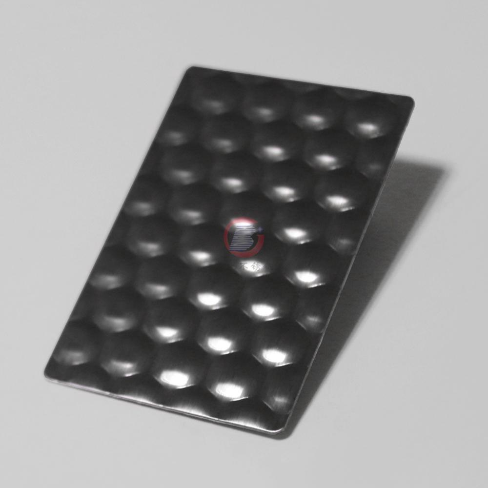 高比进口蜂巢纹不锈钢压花 机械运用装置材料 2