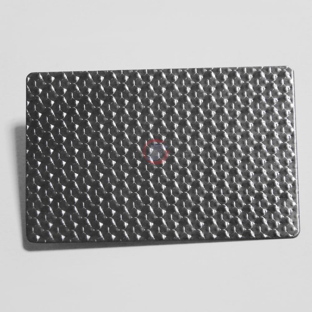 高比304不鏽鋼黑鈦荔枝紋壓花板  4